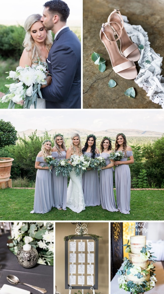 Sage & Charcoal Wedding at Green Leaves Country Lodge by Werner J Photography | SouthBound Bride