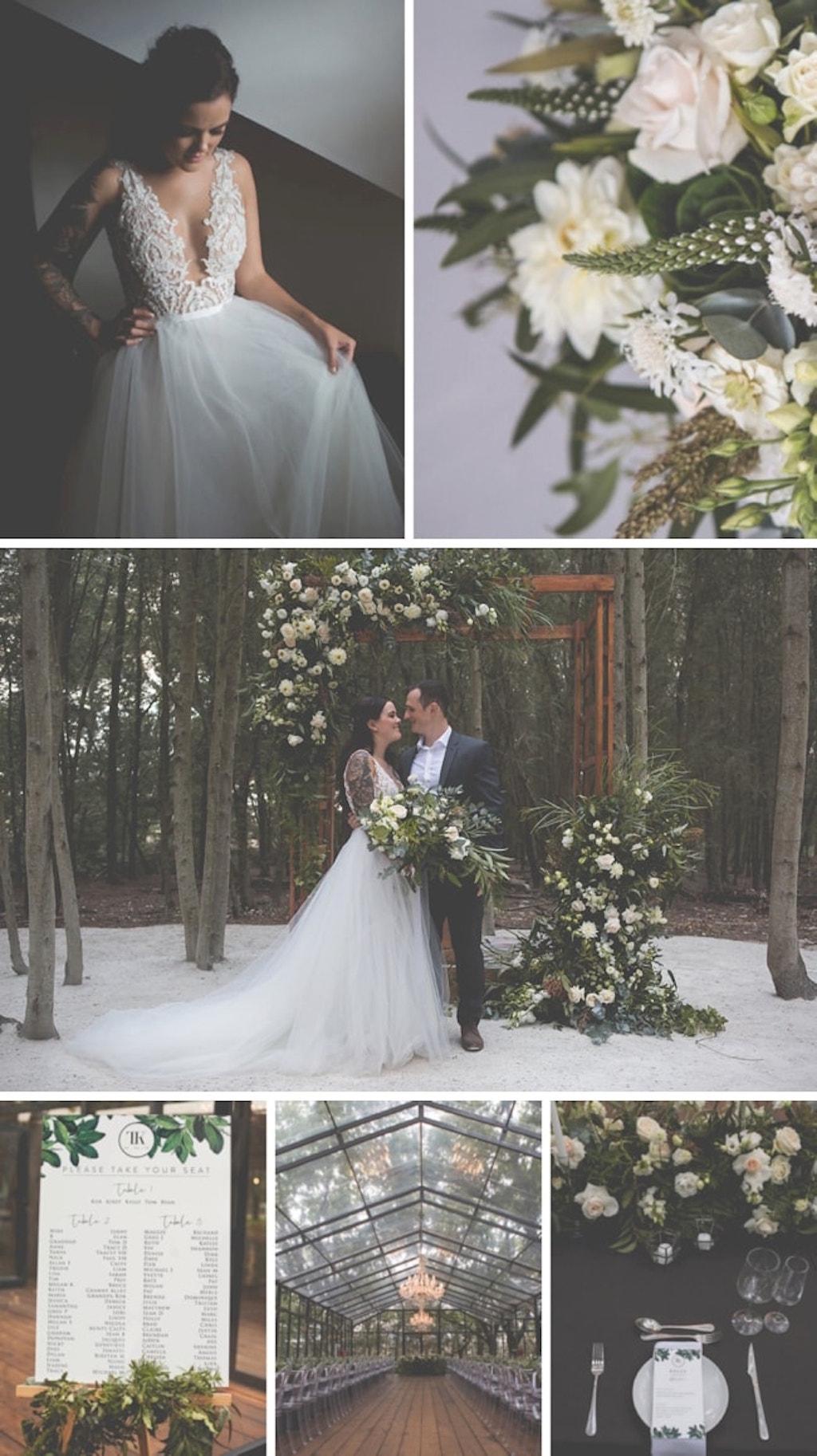 Edgy Fairytale Forest Wedding at Die Woud by Nikki van Diermen   SouthBound Bride