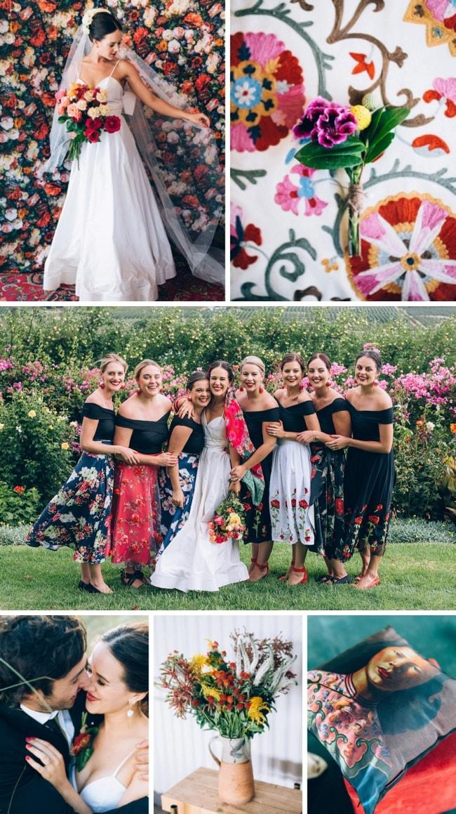 Bright & Colourful Handmade Farm Wedding by Tasha Seccombe   SouthBound Bride