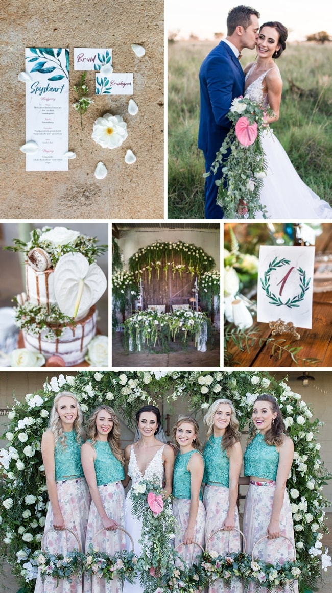 Rustic Copper & Greenery Wedding at Makojalo by Werner J Photography | SouthBound Bride
