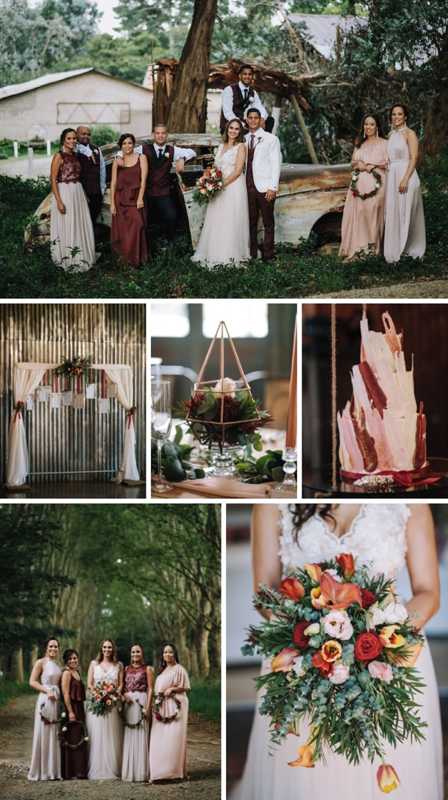 Quirky Countryside Wedding at Crystal Barn by The Shank Tank | SouthBound Bride