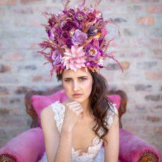 Pink Sunset & Ultra Violet Wedding Inspiration
