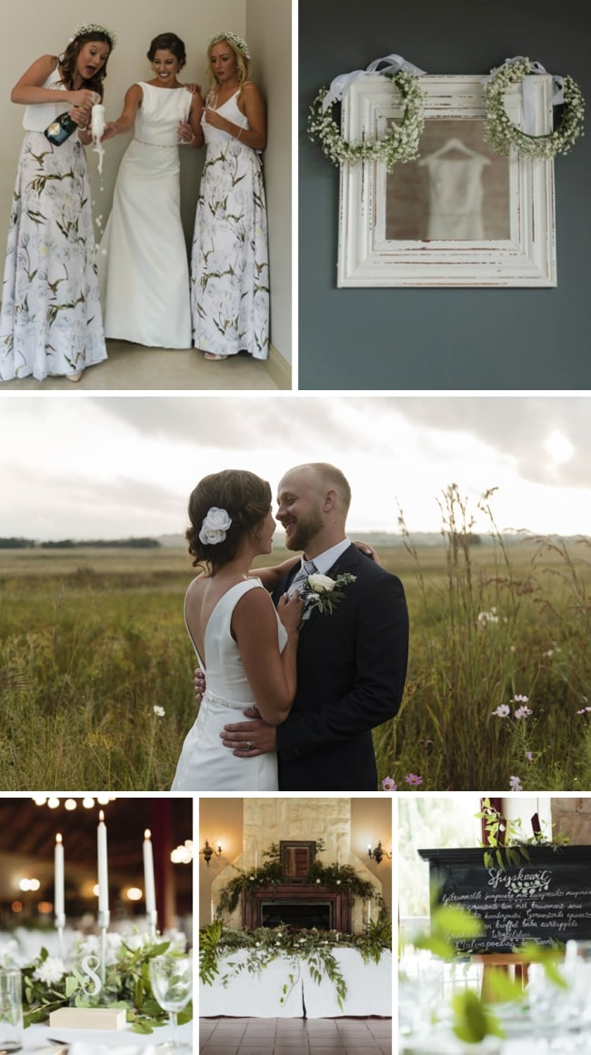 Simply Elegant Greenery Wedding at Ingaadi by Wynand van der Merwe | SouthBound Bride