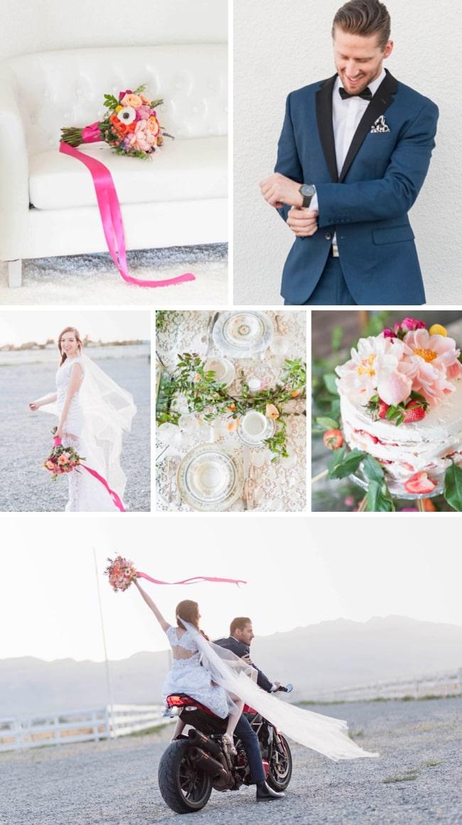 Colourful Desert Elopement Inspiration by Amanda Lauran | SouthBound Bride