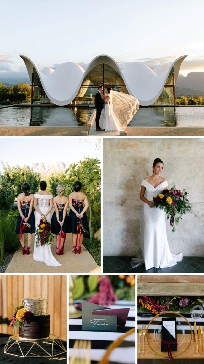 Bold & Stylish Wedding at Bosjes Estate by Koa Photography   SouthBound Bride