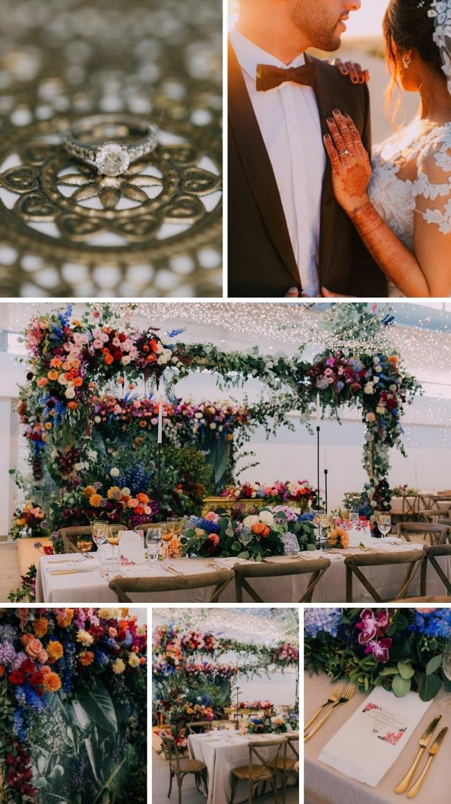 Gorgeously Colourful Muslim Wedding Festival at Cavalli Estate by Michelle du Toit   SouthBound Bride