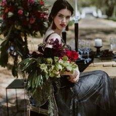 Black Beauty: Dark & Moody Wedding Inspiration