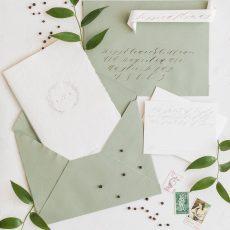 Minimalist Greenery Wedding Inspiration