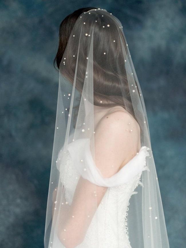 Dramatic Statement Bridal Veils Southbound Bride
