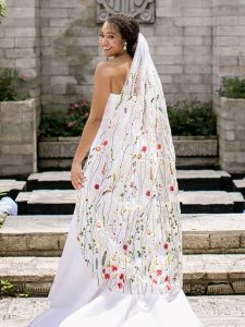 Statement Bridal Veils