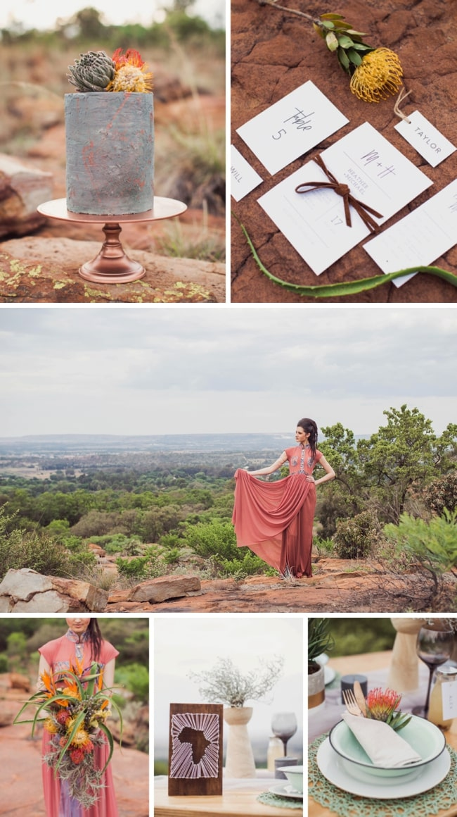 Rooted: Earthy South African Wedding Inspiration by Because Life Photography | SouthBound Bride