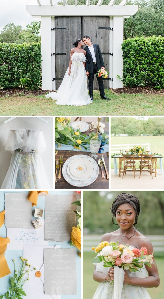 Delicate Garden Wedding Inspiration by Amy Saavedra | SouthBound Bride