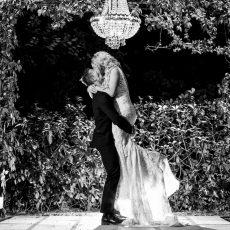 Modern Monochrome & Greenery Wedding at White Light by Daniel West