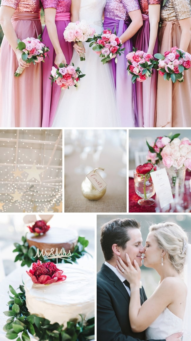 Festive & Colourful Winter Wedding at Orchards by Bright Girl | SouthBound Bride