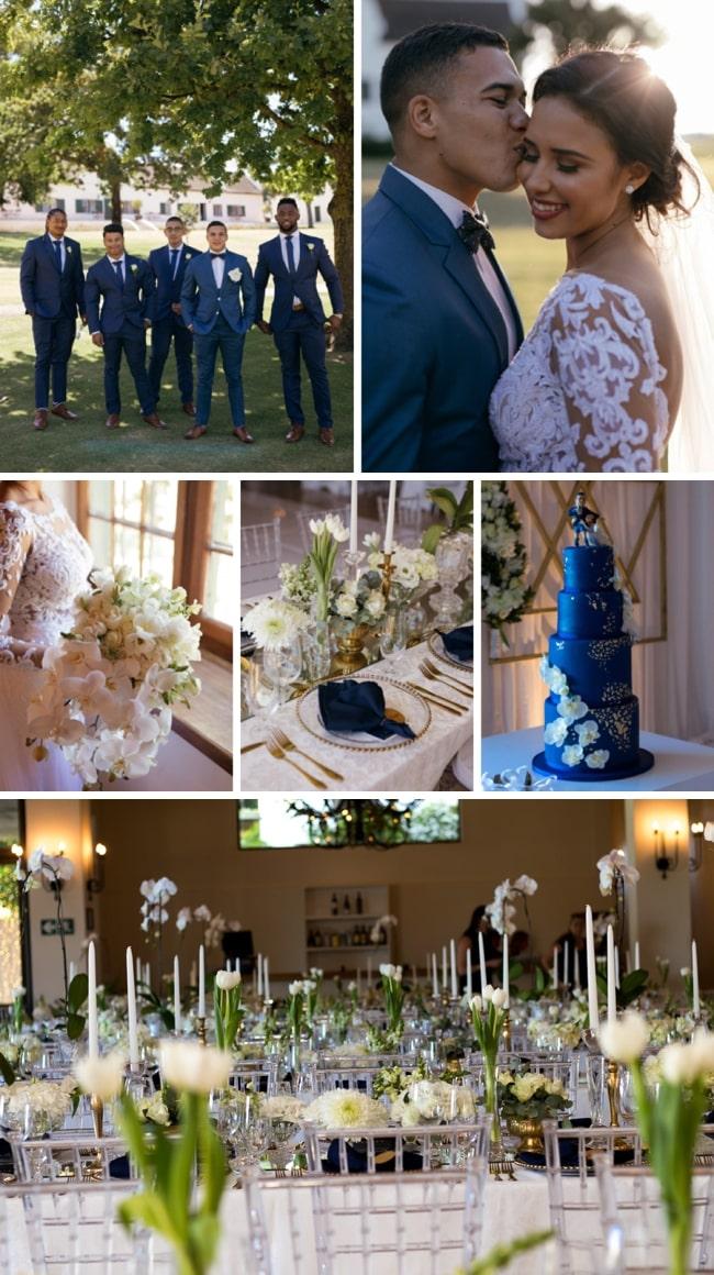 Timeless Elegance Springbok Wedding at Webersburg by Lavender Creations & Duane Smith | SouthBound Bride