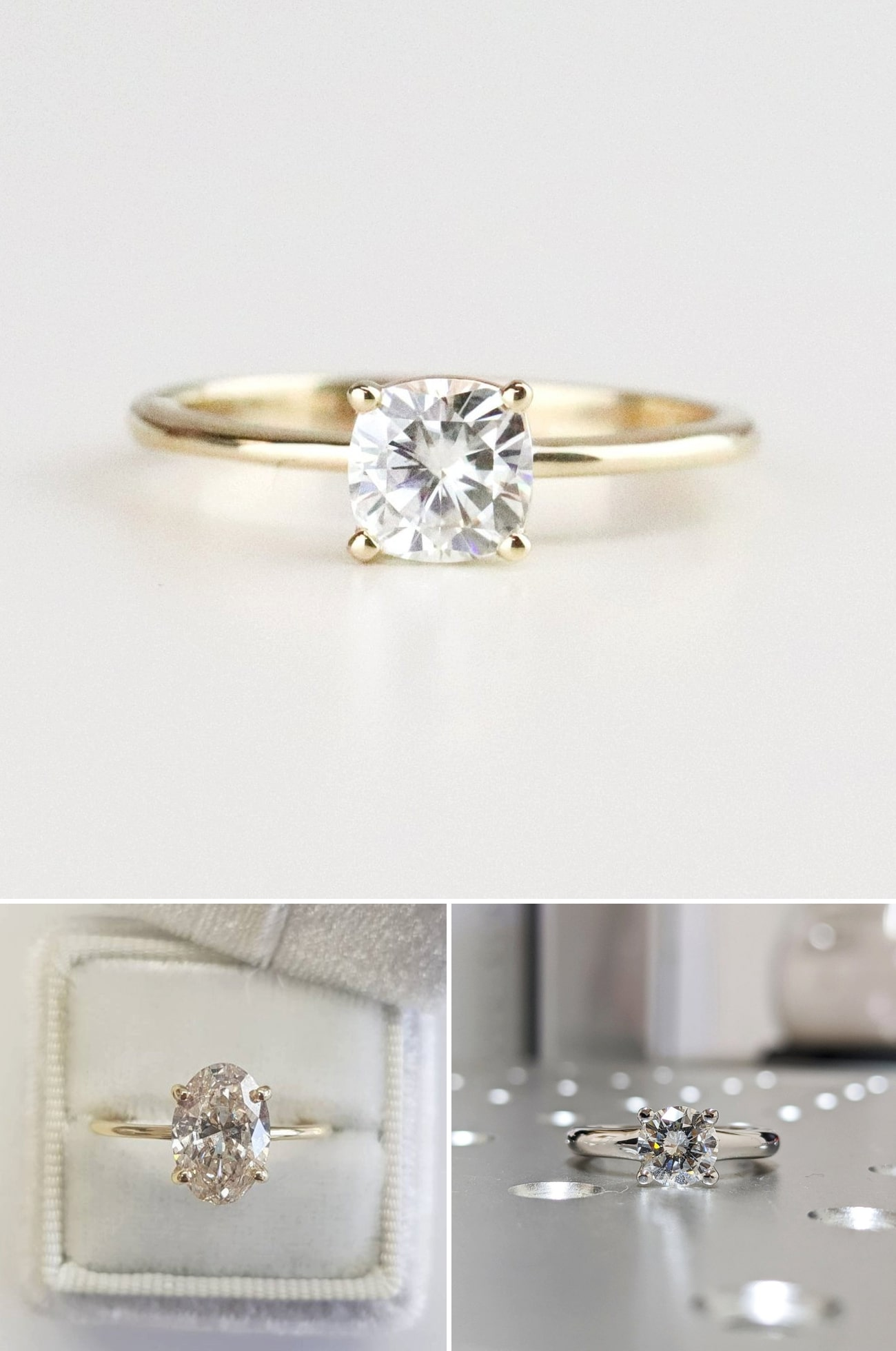 2021 Engagement Ring Trends Solitaire Settings
