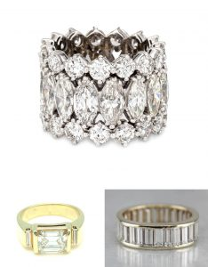 2021 Engagement Ring Trends Statement Engagement Bands