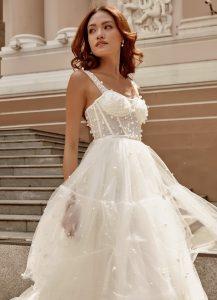 Pearl Wedding Dresses
